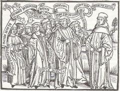 Jakob Wimpfeling et ses étudiants en polémique avec Thomas Murner .jpg