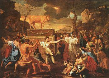 L'adoration du veau d'or - Nicolas Poussin.jpg