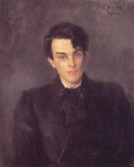 William Butler Yeats par John Butler Yeats (1900).jpg