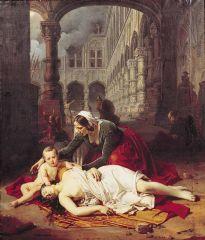 Episode du sac de Liège - Barthélemy Vieillevoye (1842).jpg