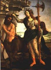 Minerve et le Centaure - Botticelli.jpg