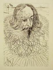 Miguel de Cervantes par Salvador Dali.jpg