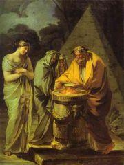 Le sacrifice à Vesta - Francisco de Goya.jpg